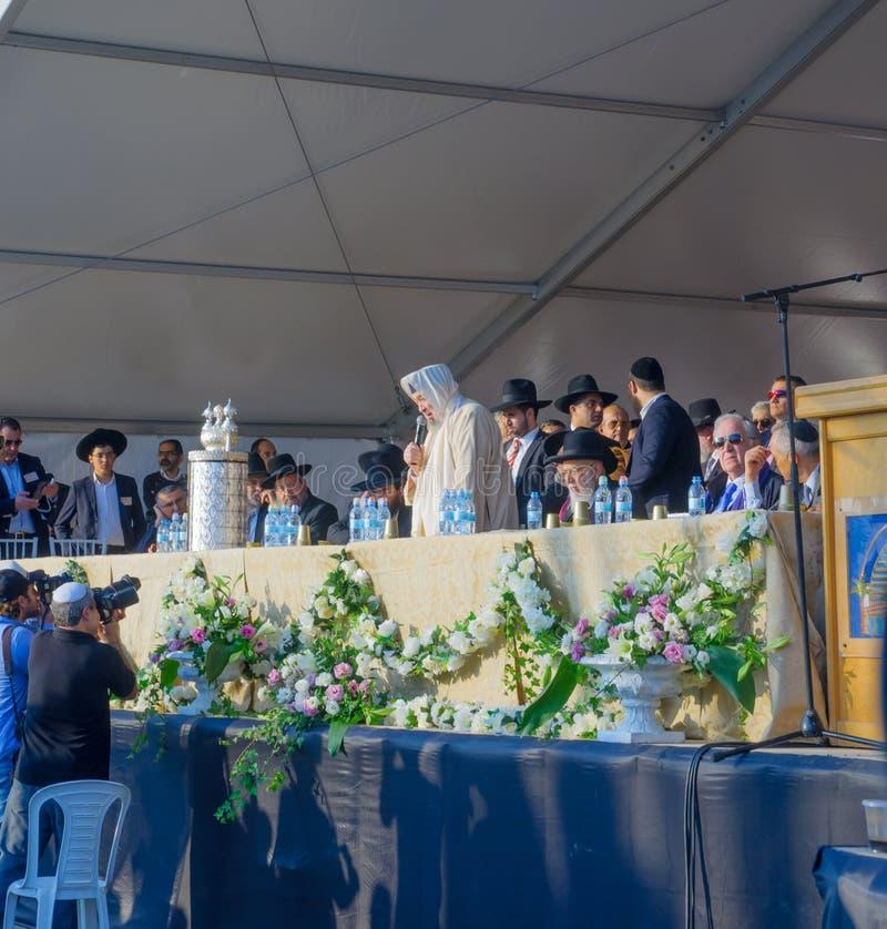 Hillula anual de Baba Sali fotos de stock