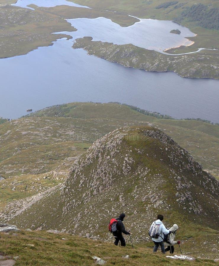 Download Hillwalking in Scotland stock image. Image of mountain - 9183795