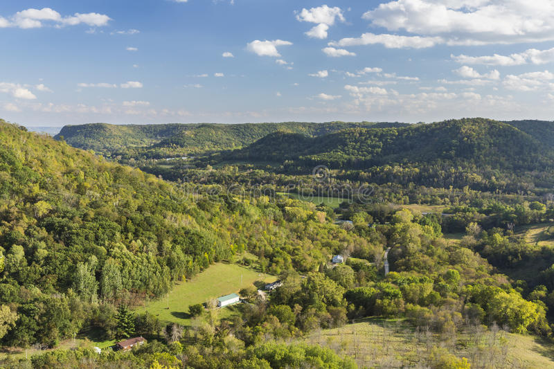 Hilly Countryside Scenic royalty free stock images