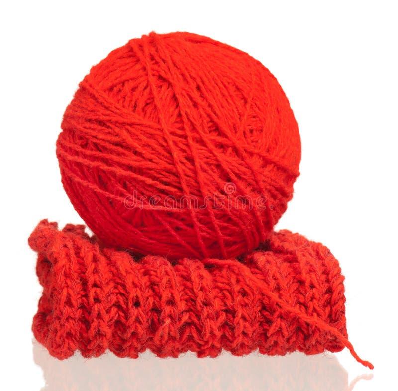 Hilo de lana brillante fotografía de archivo libre de regalías