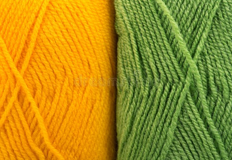 Hilos de lana brillantes fotos de archivo libres de regalías