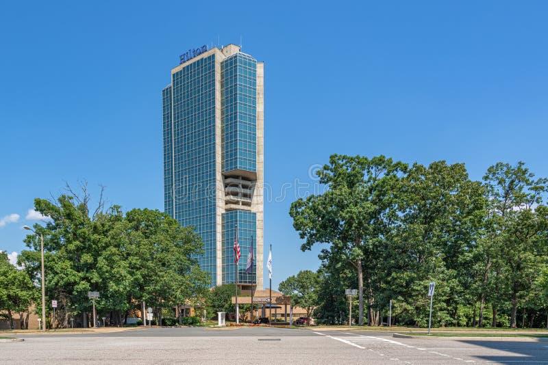 Hilton Alexandria Mark Center royaltyfri bild