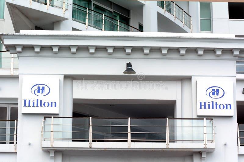 Hilton Auckland, Nouvelle-Zélande image libre de droits