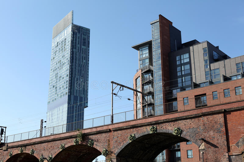Download Hilton Beetham Tower Manchester Editorial Stock Photo - Image of betham, summer: 19385368