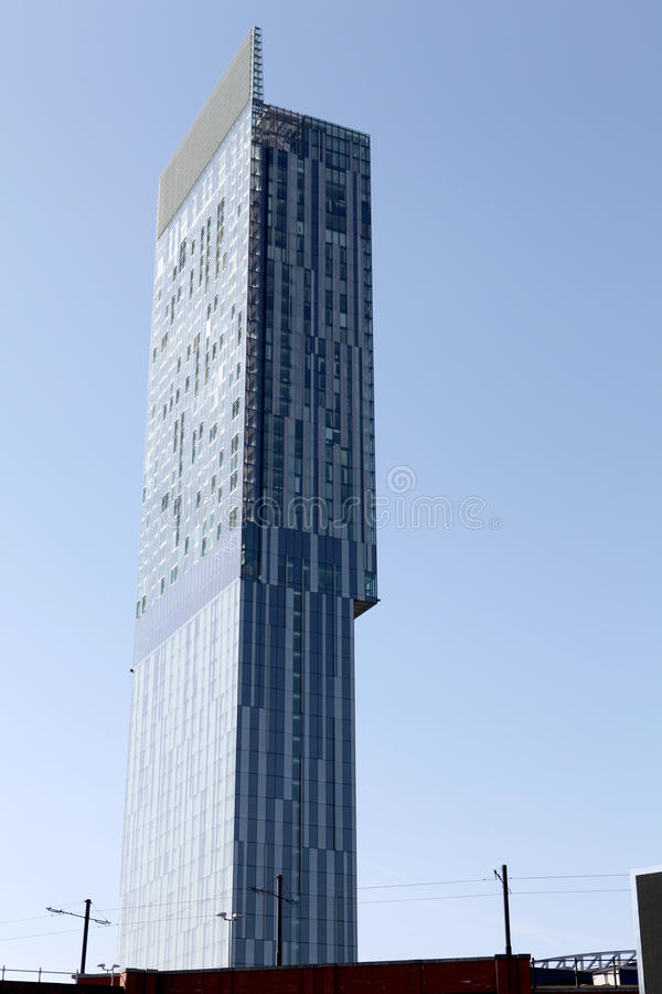 Free Hilton Beetham Tower Manchester Stock Photo - 19385390
