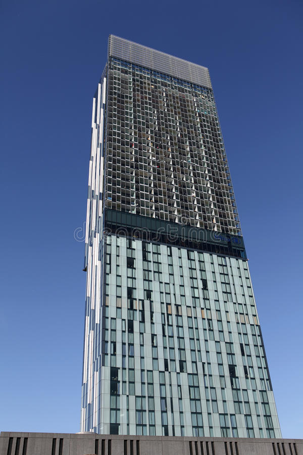 Free Hilton Beetham Tower Manchester Stock Image - 19385411
