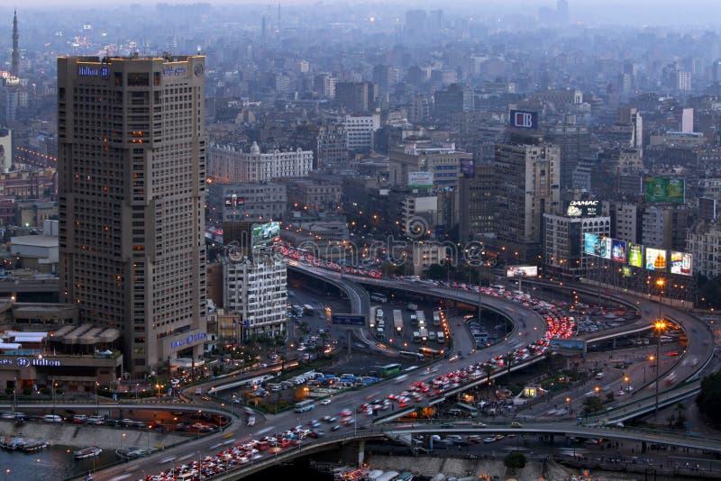 Hilton Cairo fotografia stock libera da diritti