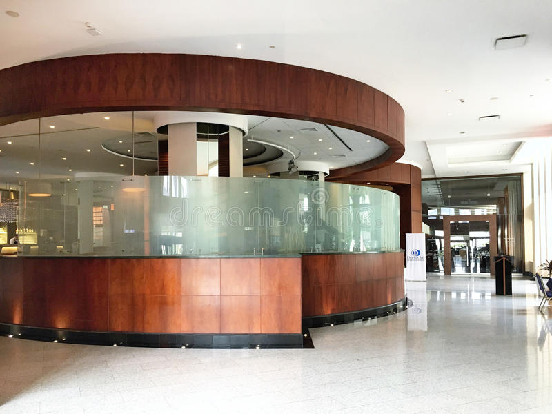 Hilton Colon Guayaquil Lobby imagens de stock royalty free