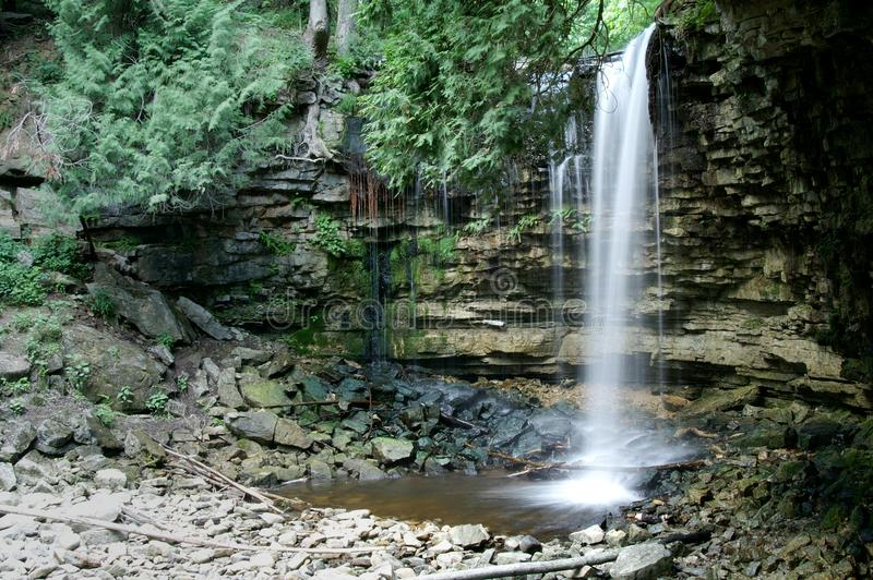 Hilton Falls stock photography