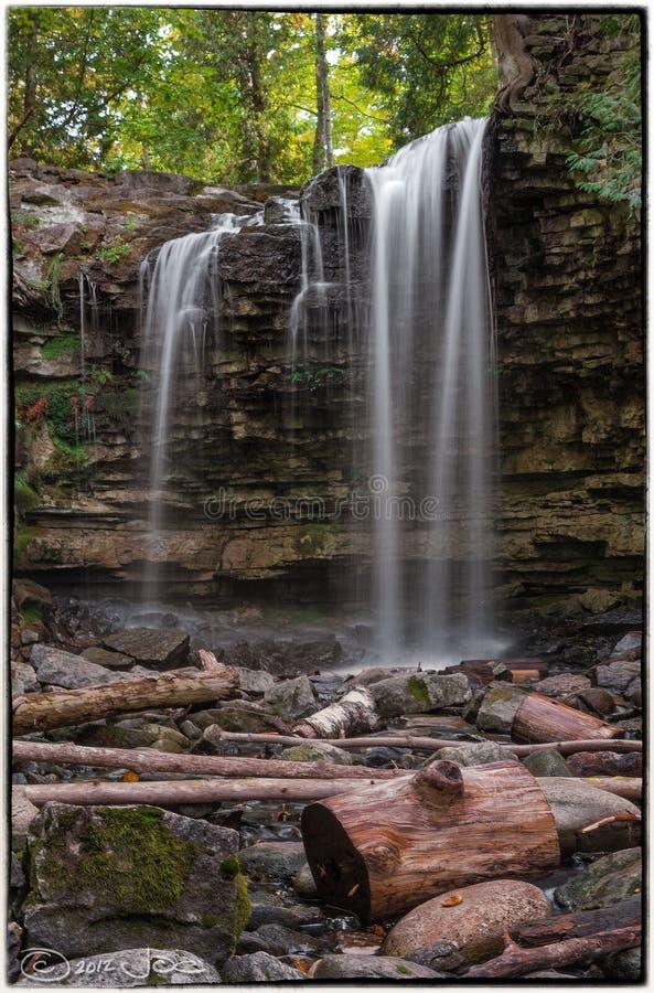 Hilton Falls, Milton Ontario royalty free stock photo