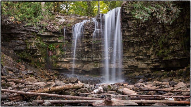 Hilton Falls, Milton Ontario royalty free stock images