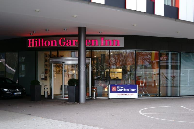 Hilton Garden Inn fotos de archivo libres de regalías