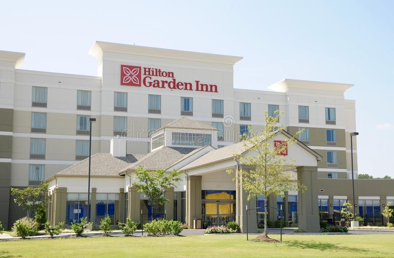 Hilton Garden Inn Building, Memphis, TN imagen de archivo