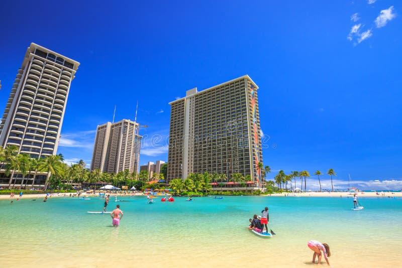 Hilton Hawaiian Village immagine stock libera da diritti