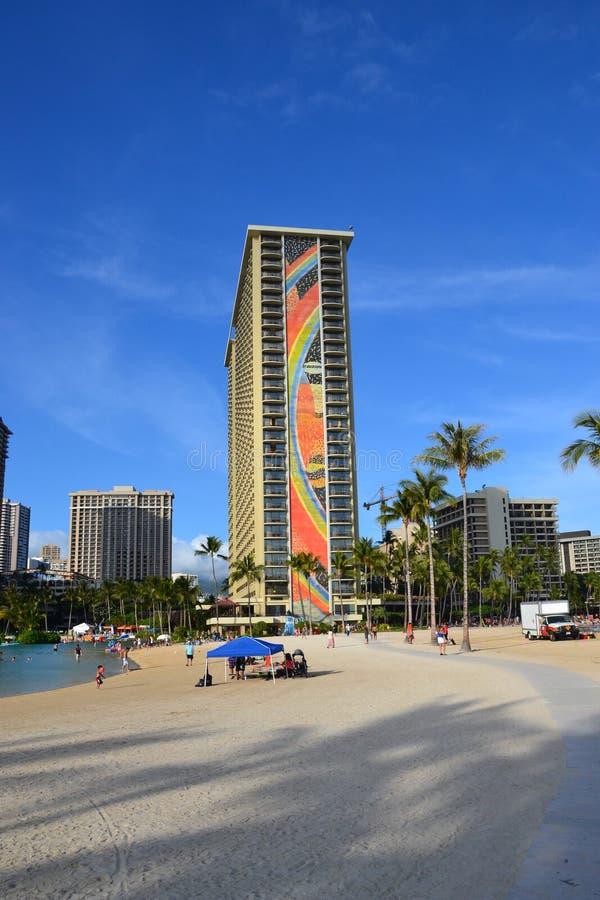 Hilton Hawaiian Village Hotel fotografia stock libera da diritti