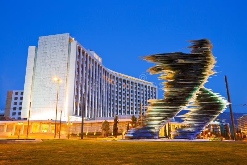 Hilton Hotel à Athènes photos libres de droits