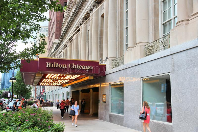 Hilton Hotel immagini stock