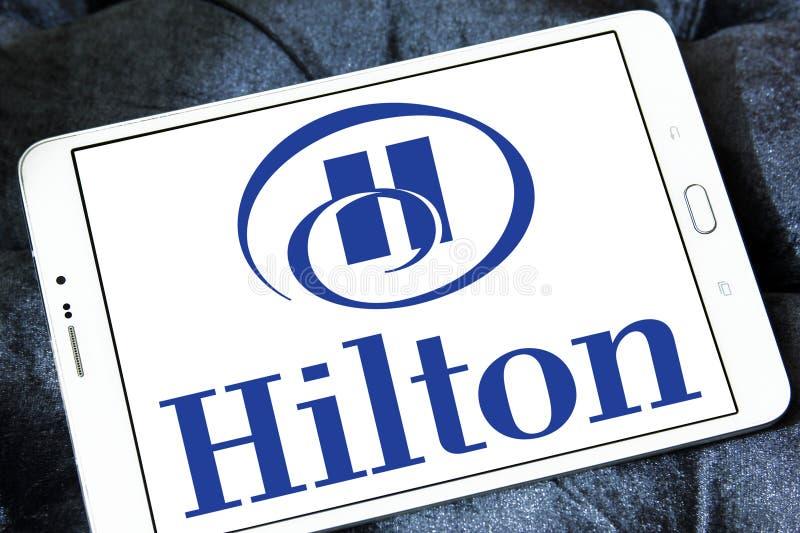 Hilton logo obrazy stock