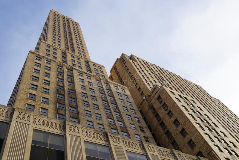 Hilton Netherland Plaza Hotel historique dans la tour de Carew, Cincinnati photos stock