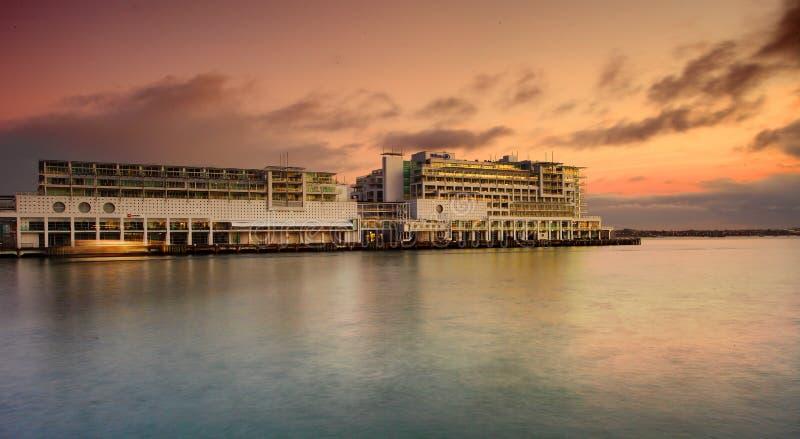 Hilton op Viaducthaven royalty-vrije stock foto