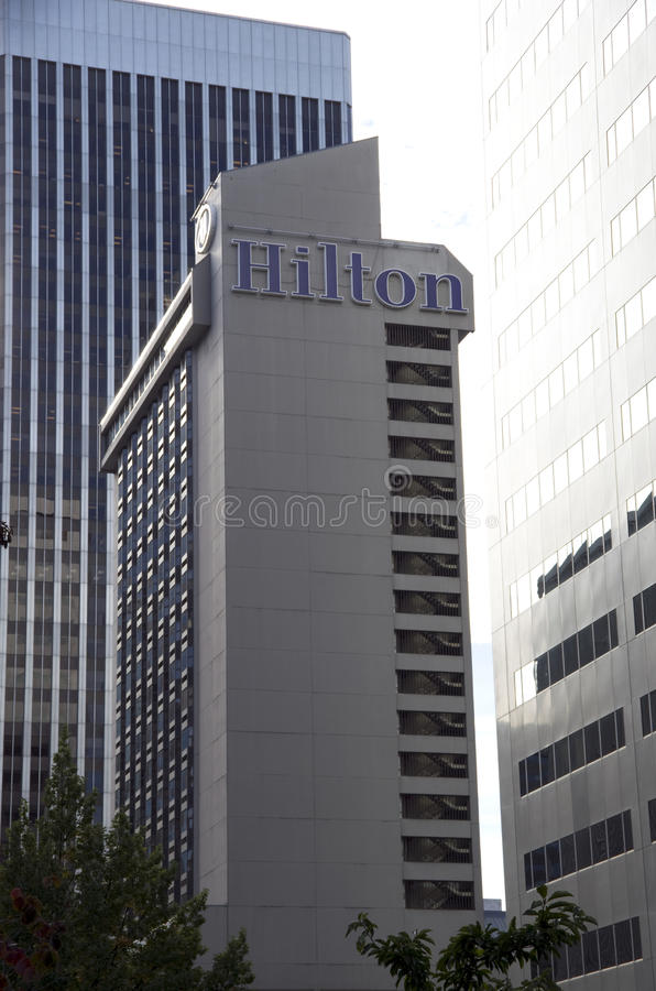 Hilton Seattle Hotel Editorial Image
