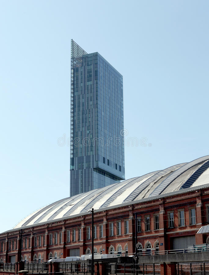 Free Hilton Tower Manchester Stock Photo - 19298560