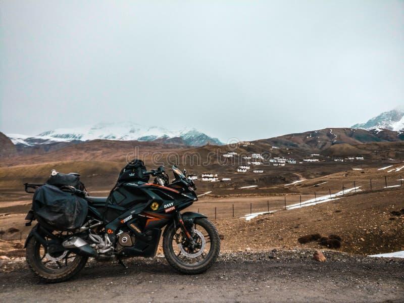 himachal dal för india pradeshspiti arkivfoton