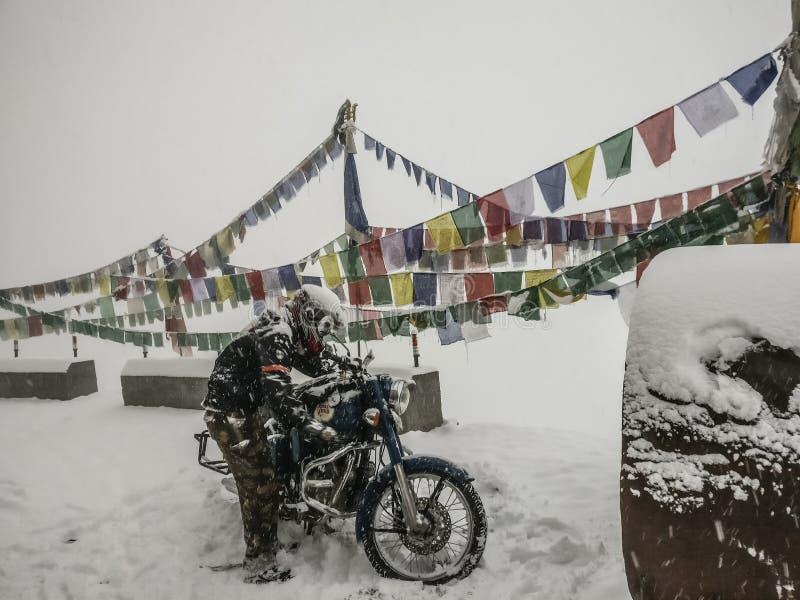 himachal dal för india pradeshspiti royaltyfri foto