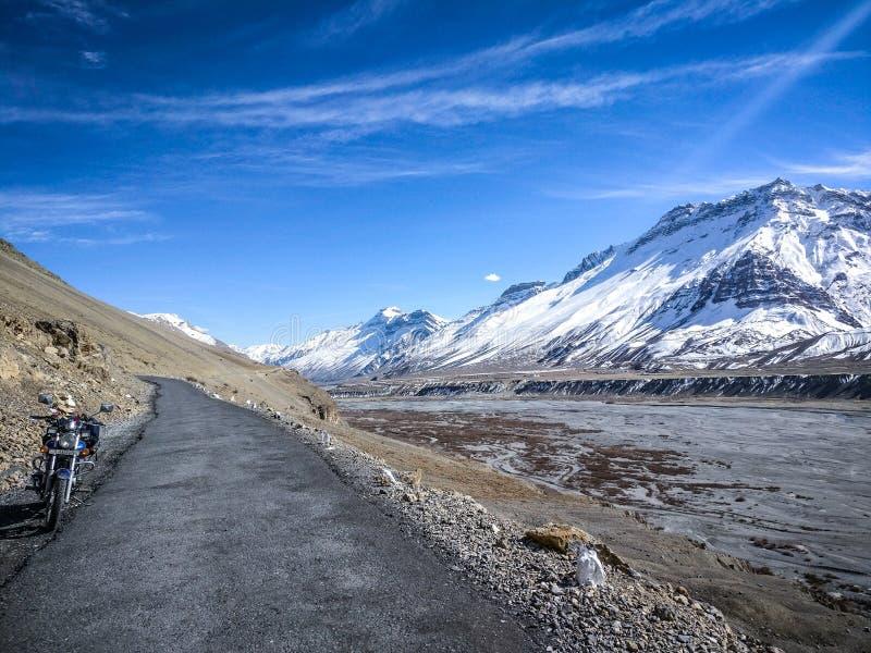 himachal dal för india pradeshspiti royaltyfri fotografi