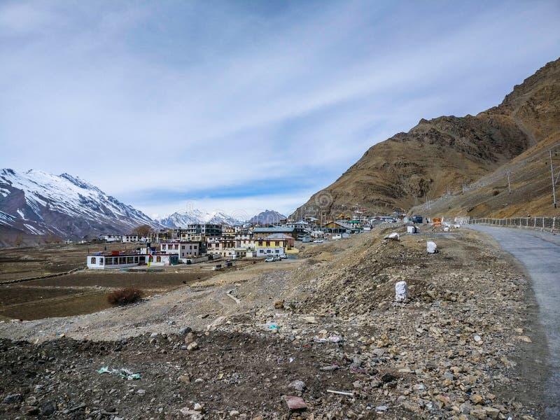 himachal dal för india pradeshspiti arkivfoto