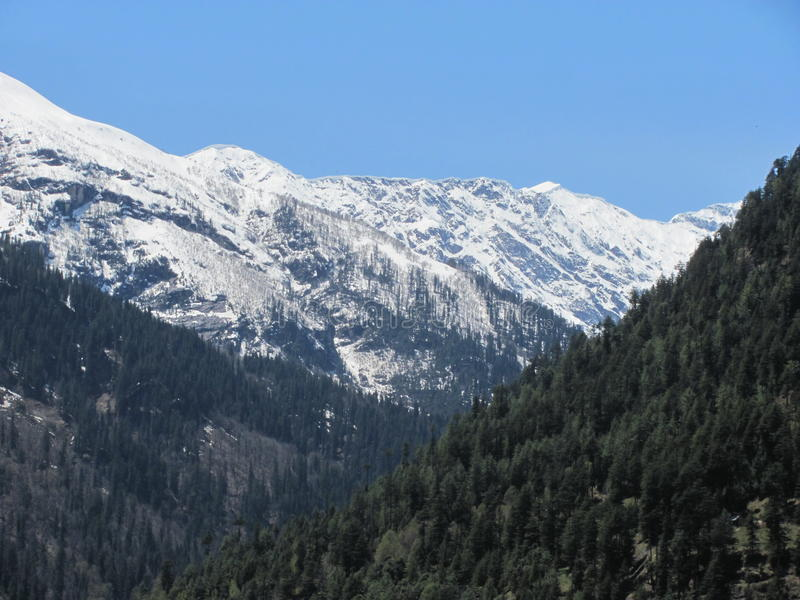 Himachal Pradesh και η ομορφιά του στοκ εικόνα με δικαίωμα ελεύθερης χρήσης