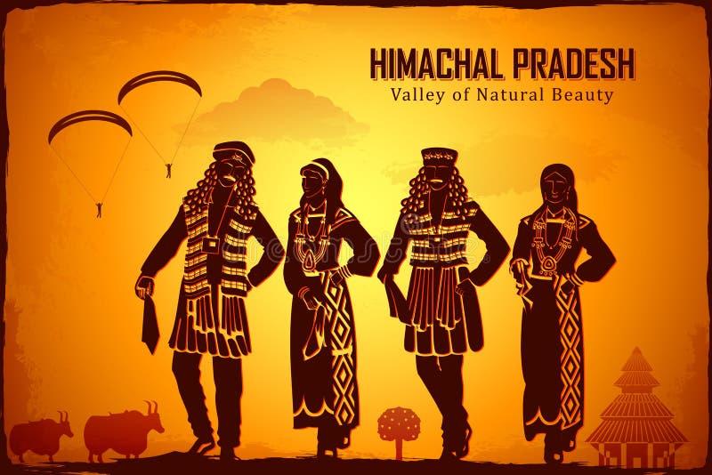 Himachal Pradesh illustration libre de droits