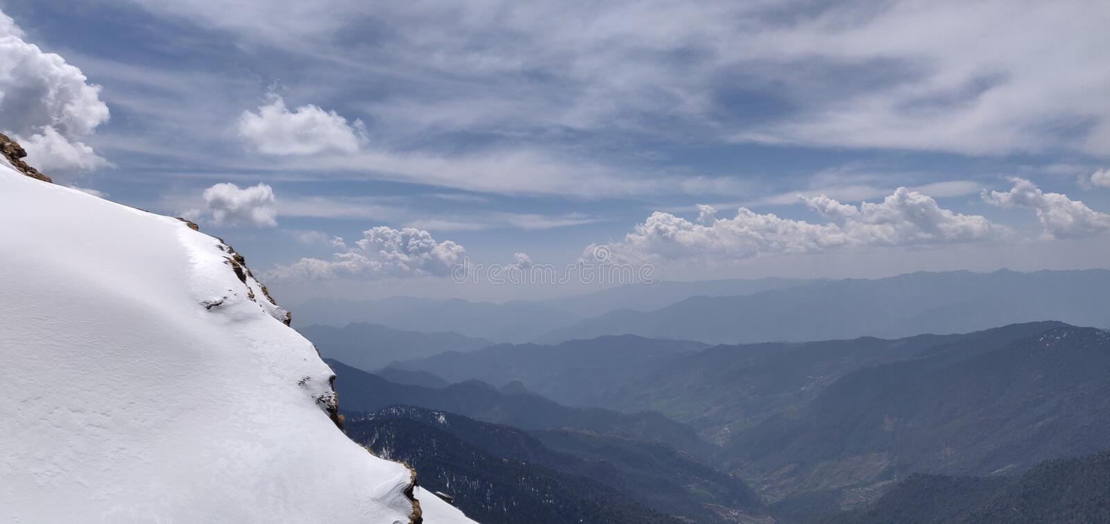 Himachal pradesh, which is a state of india. Himachal Pradesh is a northern Indian state in the Himalayas. It`s home to scenic mountain towns and resorts such as royalty free stock photos