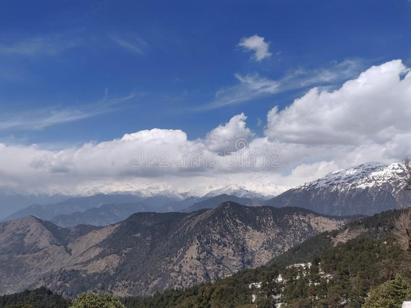 Himachal pradesh, which is a state of india. Himachal Pradesh is a northern Indian state in the Himalayas. It`s home to scenic mountain towns and resorts such as royalty free stock photography