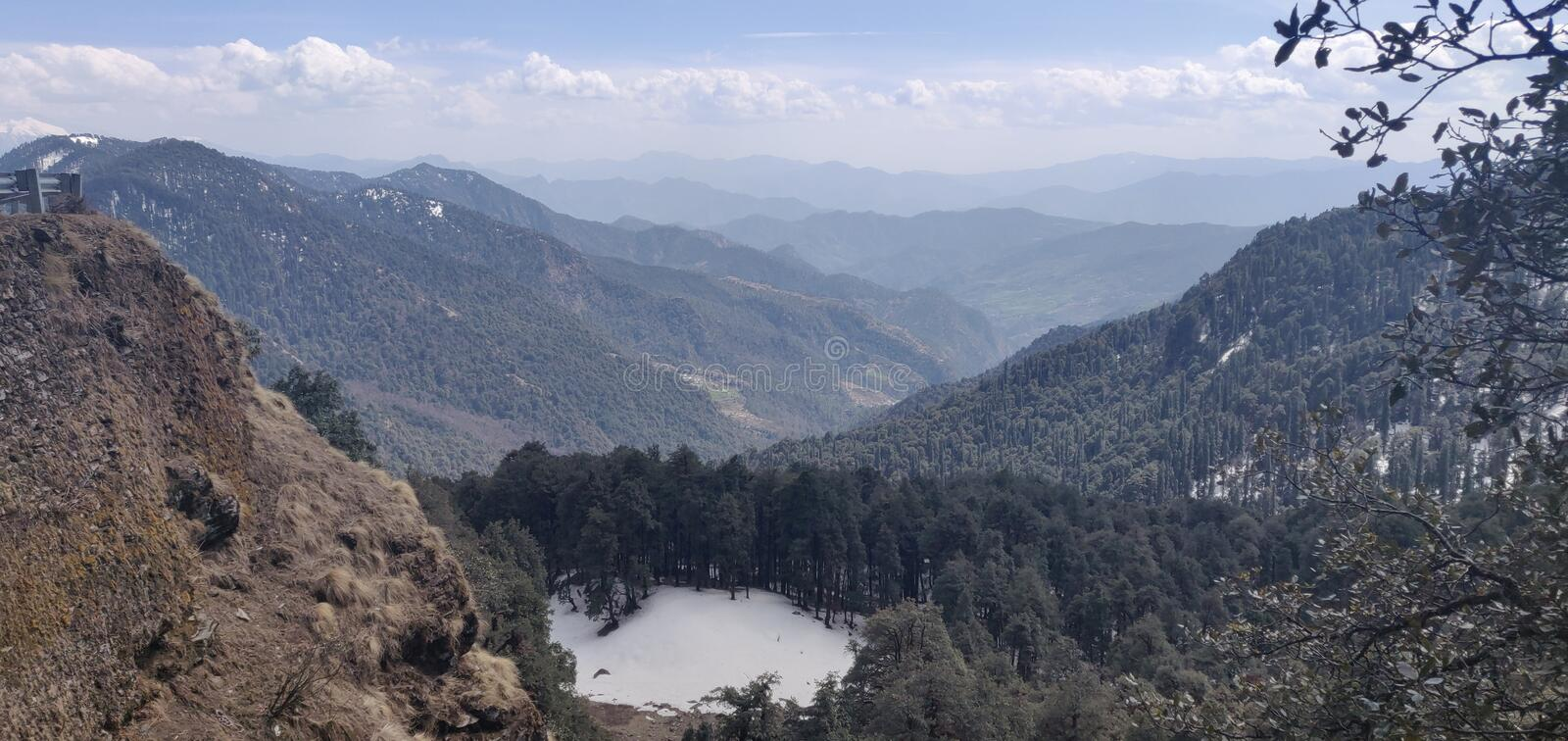 Himachal pradesh, which is a state of india. Himachal Pradesh is a northern Indian state in the Himalayas. It`s home to scenic mountain towns and resorts such as stock image