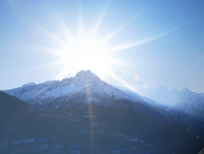 Himalaja stockfoto