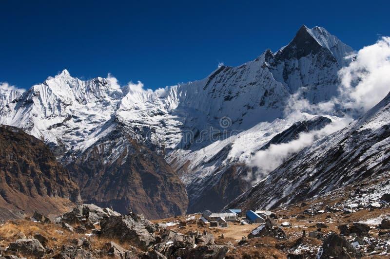 Himalajaberge stockfotos