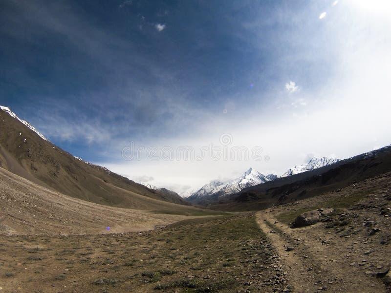 Himalajalandschaft lizenzfreie stockbilder
