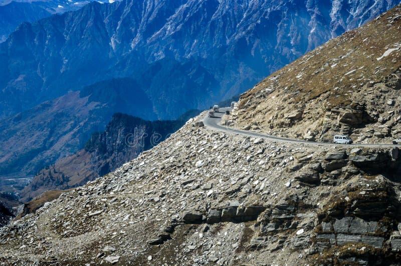 Himalajastraße stockfoto