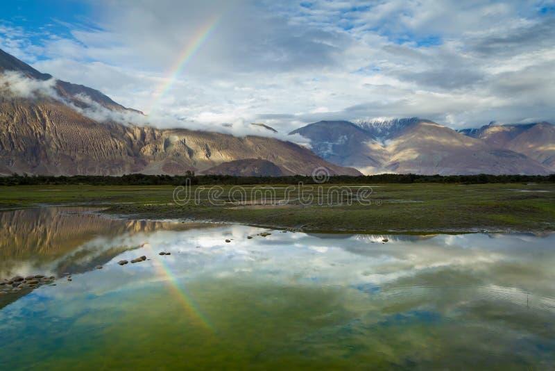 Himalaje. Nubra dolina. fotografia royalty free