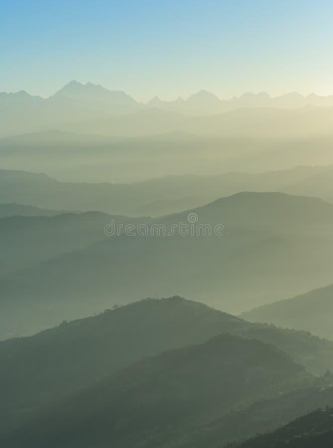 Himalaje pasmo, Nepal zdjęcia royalty free