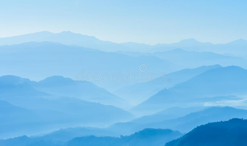 Himalaje pasmo, Nepal zdjęcie stock
