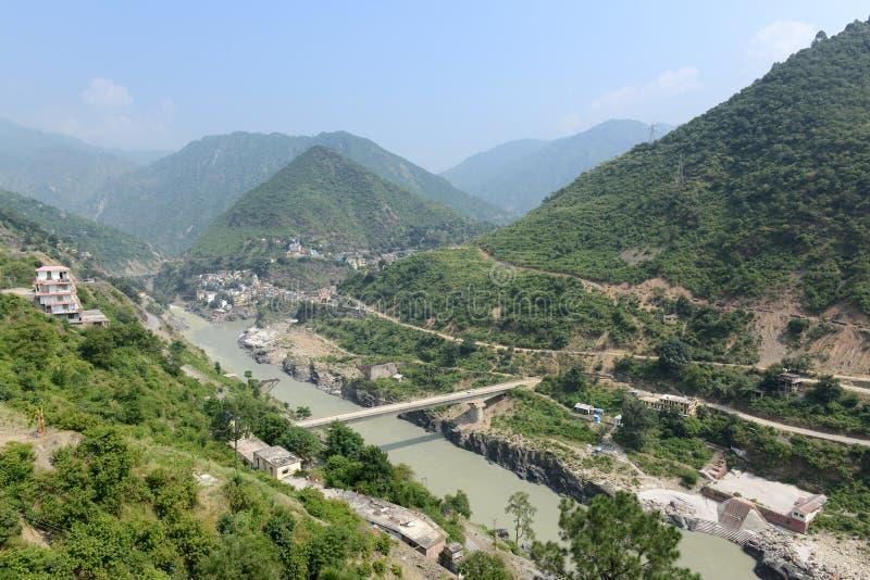 Himalaje wycieczka turysyczna obrazy royalty free