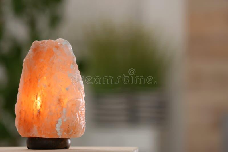 Himalajska solankowa lampa fotografia royalty free