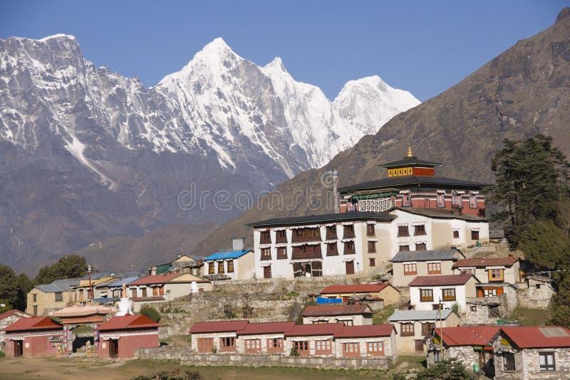 himalajski monaster fotografia royalty free
