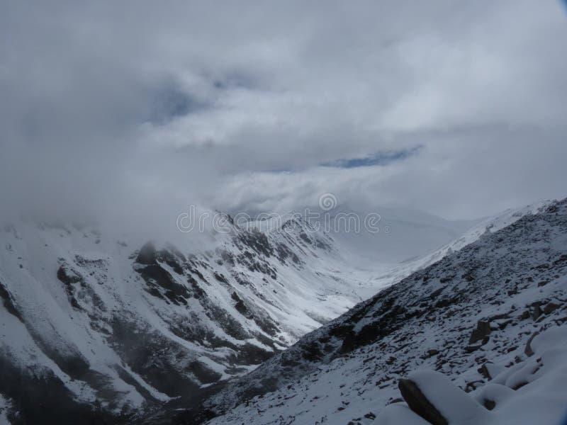 Himalai mountains royalty free stock image