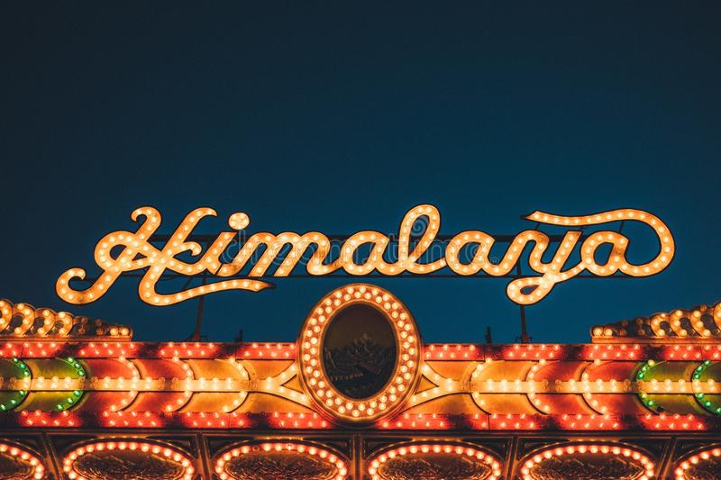 Himalaya Casino In Lights Free Public Domain Cc0 Image