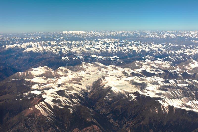 Himalaya mountain- nepal stock photo