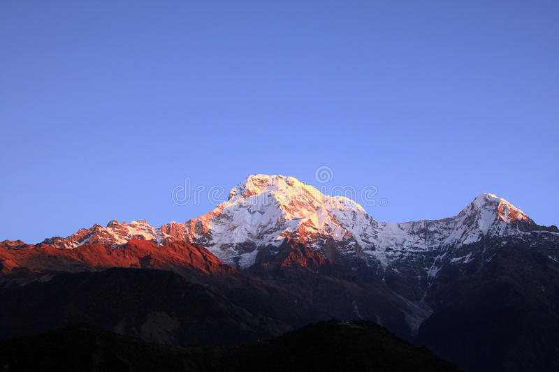 Download The Himalaya Mountain Peak Royalty Free Stock Photography - Image: 16049567