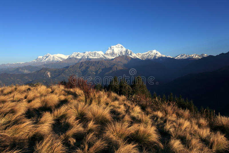 The Himalaya Mountains Range stock images